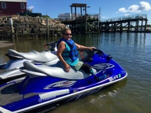 Water sports with Prosthesis